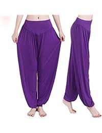 XGUO super doux spandex modal yoga pilates pantalon harem bouffant pour femme Yoga Fitness
