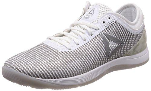 Reebok Herren R Crossfit Nano 8.0 Fitnessschuhe, Weiß White/Skull Grey/Silver, 44 EU