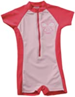Playshoes Mädchen Badeanzug 460061 Bade - Einteiler/ Badeanzug Schmetterling von Playshoes mit höchstem UV-Schutz nach Standard 801 und Oeko-Tex Standard 100