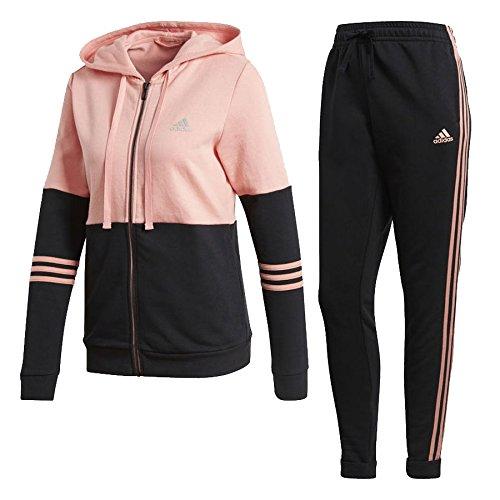 adidas Damen Energize Trainingsanzug, Trapnk/Black, S