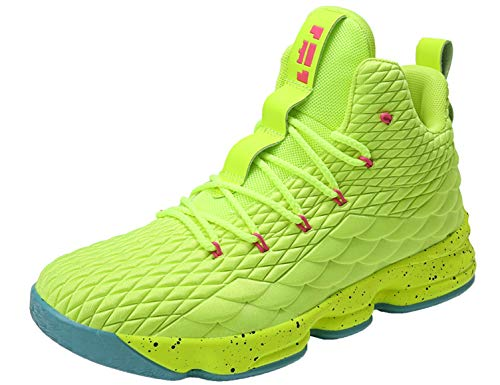 SINOES Unisex Basketball Schuhe Turnschuhe Kinderschuhe Sportschuhe Jungen High-Top Outdoor Laufeschuhe Sneaker Unisex-Kinder Atmungsaktiv Anti-Rutsch Trainers Running Shoes