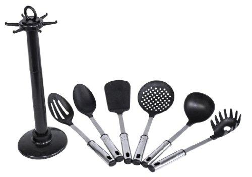 Karcher lisa set de utensilios de cocina con soporte for Soporte utensilios cocina