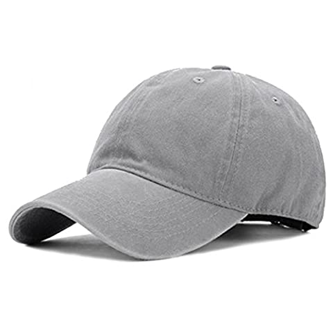 Retro Cotton Baseball Cap - iParaAiluRy Outdoor Old Style Fashionable Unisex Adjustable Leisure Embroidery Hat for Male and Female
