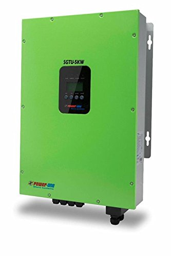 Powerone Microsystems Pvt. Ltd. Grid-Tie Inverter, 5KW, 190 X 295 X 483 Mm
