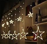 MS.REIA Sterne Lichterketten, Gypsophila LED Licht, USB Home Hotel Schaufenster Anhänger Dekoration Warmweiß