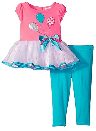 Youngland Entzückendes Tutu-Kleid + Legging Gr. 92,98,104,110,116,122 Größe 92 - Outfits Youngland Für Mädchen