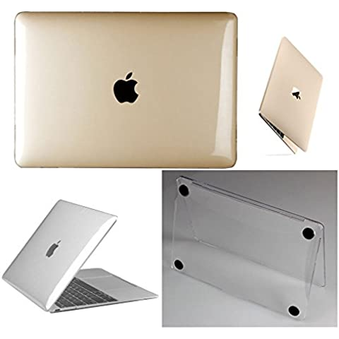 frixie (TM) trasparente in plastica rigida trasparente custodia cover pelle per nuovo MacBook (Sail Laptop Bag)
