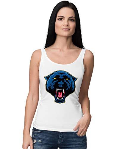 BLAK TEE Angry Panther Face Damen Tank Top