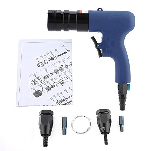 Air Rivet Nut Gun, 600 U/min Air Pull Nut Tool 90PSI Pneumatische Nietmaschine -