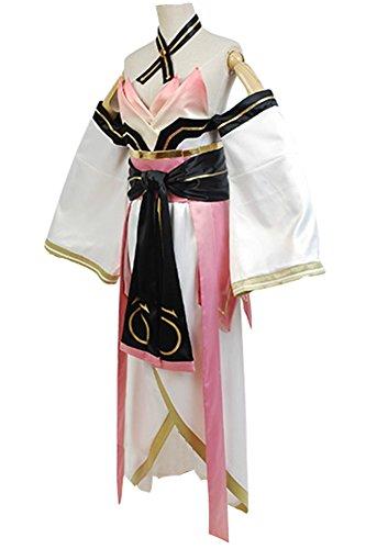 Fuman Date A Live Kotori Itsuka Elohim Gibor Kimono Cosplay Kostüm Maßanfertigung
