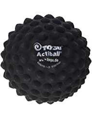 Togu Actiball - Pelota de masaje de la fascia, 9 cm, color negro