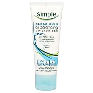 Simple Clear Skin Oil Balancing Moisturiser 75 ml