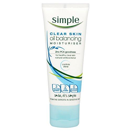 Gesichtscreme für fettige & unreine Haut von Simple Kosmetik