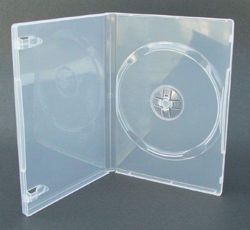 DVD Hülle 7mm Einzelhülle Klar Transparent Durchsichtig 100er Packung