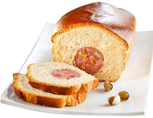 Brioche fourr�e au saucisson pistach� surgel�e - 400 g