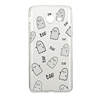 For Samsung Galaxy J3 2017 Case [with Free Screen Protector],Kwapo® Ultra Slim Transparent Soft TPU Silicone Back Rubber Bumper Clear Creative Pattern Design Flexible Protector Cover Case for Apple Samsung Galaxy J3 2017 - Expression
