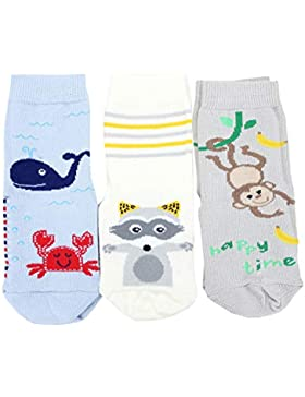 TupTam Unisex Baby Stoppersocken ABS Socken 3er Set