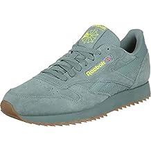 a889d66156a Amazon.fr   reebok classic leather homme - Vert