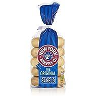 New York Bakery Co. Plain Bagels, 5 Pack