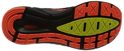 Puma Speed Ignite Netfit, Scarpe Sportive Outdoor Uomo Nero (Black-shocking Orange-white)