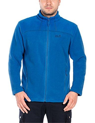 Jack Wolfskin Herren Thunder Bay Fleecejacke, Azure Blue, XL (Bay Azure)