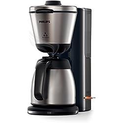 Philips HD7697/90 Intense Filter-Kaffeemaschine, Aroma-Wahlfunktion, schwarz/edelstahl