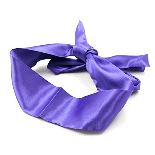 Butterme SM Spielsatin Augenmaske Maske ,Blindfold Fetisch Ribbon Augenmaske SM Bondage Beschränkungen für Flirt Paare