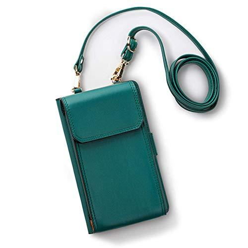 CHAOY Kleine Umhängetasche, Handy Geldbörse Smartphone Geldbörse Leichte Geräumige Reisepass Tasche Crossbody Handtaschen für Frauen,2
