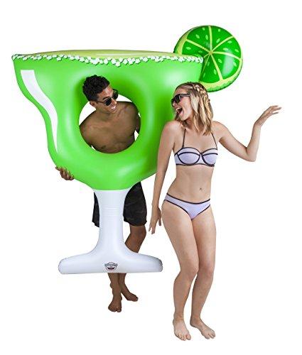 BigMouth Inc Flotador gigante piscina margarita