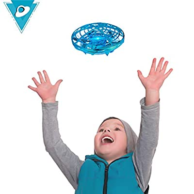TekHome Toddler Toys for 3 Year Olds Boys, Mini Drone for Children, Hand Operated Small Flying UFO Toy, Top 2019 Girls Toys Age 4-5 years, Best Birthday Presents for Kids Age 6 7 8 9 10.