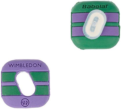 Preisvergleich Produktbild Babolat Schlägerzubehör Custom Damp Wimbledon 2er Pack,  700031-194