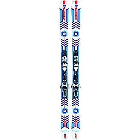 dynastar–Pack Sci Serial + Fissaggio Look Xpress 10B83Uomo–Uomo–Bianco, bianco, 138 cm