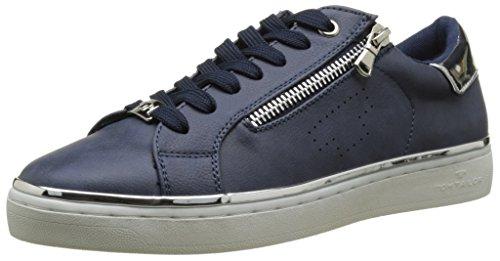 Tom Tailor - 2792603, Basse Donna Bleu (Navy-Silver)