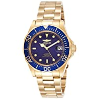 Invicta Mens Automatic Watch, Analog Display and Stainless Steel Strap 8930