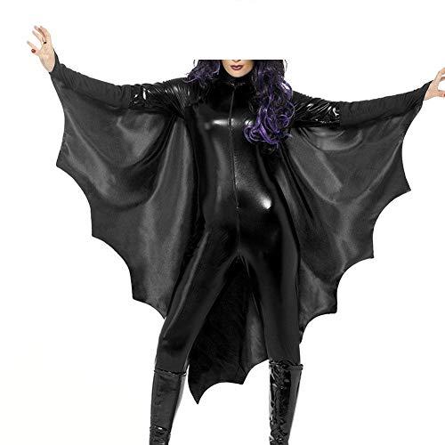 Donna Halloween Costume Vintage Fashion Outfit Pipistrello Cosplay Costumes Skinny Abbigliamento Festivo Eleganti Unico Festivo Party Costumi di Carnevale Costumi Carnevale