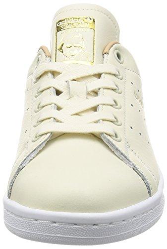 adidas Damen Stan Smith Sneaker Elfenbein (Off White/off White/st Pale Nude)