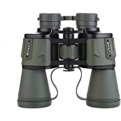 Prismáticos Militares de Alta Potencia Luxun 20x50 Binoculares compactos e Impermeables Verde