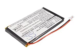 Replacement battery for Garmin Nuvi 300, Nuvi 300T, Nuvi 310, Nuvi 310D, Nuvi 310T, Nuvi 350, Nuvi 350T, Nuvi 360, Nuvi 360T, Nuvi 370