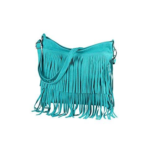 OBC Only-Beautiful-Couture , Sac pour femme à porter à l'épaule turquoise Türkis 32x30x5 cm (BxHxT)