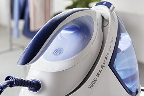 41MpXlzi9SL - Philips GC8715/20 PerfectCare Performer Steam Generator Iron (OptimalTemp No Fabric Burns Technology, 6 Bar, 360 g Steam…