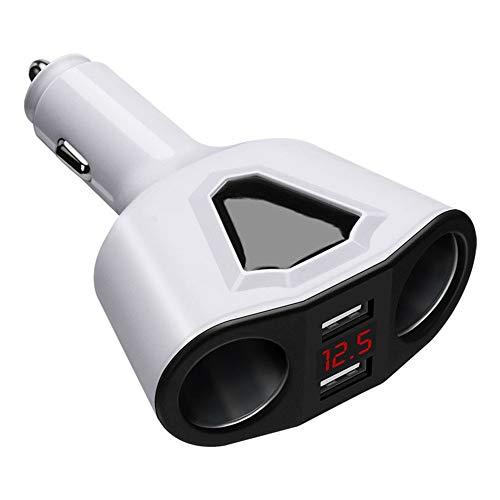 NSSZ 3.1 mit Display Auto-Ladegerät Dual-USB-Multifunktions-Auto-Ladegerät Quick Adapt-led