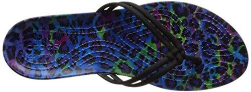 Crocs Isabella Graphic, Sandali Infradito Donna Vari colori (Multi/Leopardo)