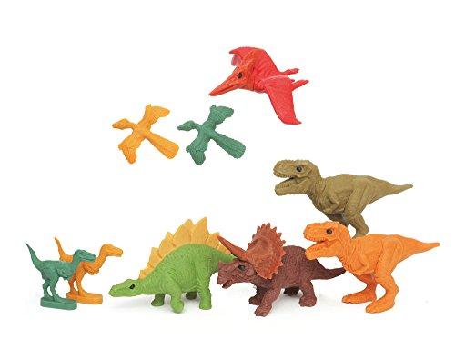 miquelrius-11374-blister-7-elastici-dinosauri