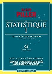 Statistique : Tome 1