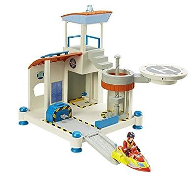 Feuerwehrmann Sam Ocean Rescue Spielset und AmazonBasics Batterien