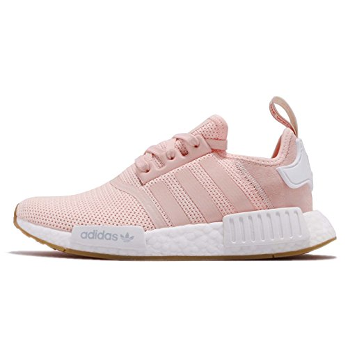 adidas Originals NMD_R1 Damen Running Trainers Sneakers (UK 6 US 7.5 EU 39 1/3, pink White Gum BB7588)