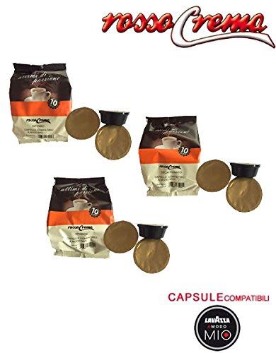 300 capsule RossoCrema Linea completa Lavazza A Modo Mio cialde compatibili (150 Intenso + 100 Arabica + 50 dek) Offerta Promozione speciale a 0,15? a capsula