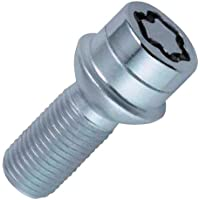 McGard 28028SU Standard - Tornillos antirrobo para ruedas (base esférica, M12 x 1,50, longitud del vástago 24,1 mm, SW17)