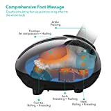 Naipo Fußmassagegerät mit Wärmefunktion,Shiatsu,Kneten,Luftkompression,3 optionale Modi,einstellbare Intensität und Timer für Entspannung(verbesserte Version) Vergleich