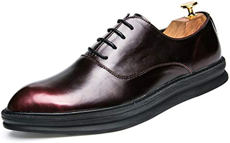 Yajie-scarpe, Scarpe Oxford da Uomo da Uomo, Scarpe da Cerimonia in Pelle Microfibra Semplice Casual con Suola... | Prezzo Pazzesco  | Uomo/Donna Scarpa